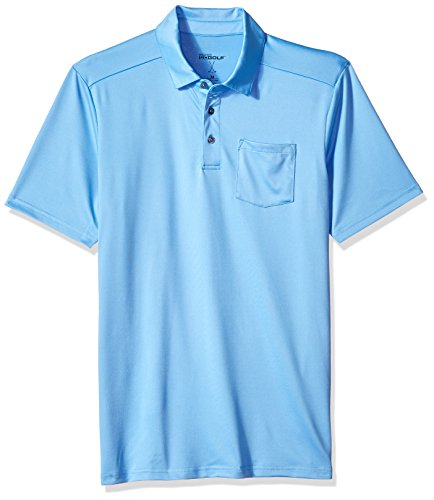 Skechers Golf Men's Sawgrass Pocket Polo,Silver Lake Blue,M by Skechers