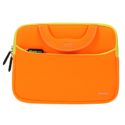 Evecase ipad case bag ultraportable handle carrying for Housse neoprene ipad air