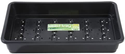 Garland 6 x Standard Full-Size Seed Trays, Black, with holes, 38x11x24 cm: Amazon.co.uk: Garden & Outdoors
