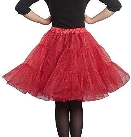 Enaguas retro de los años 50, para faldas con tutú, tallas S a XXL ...