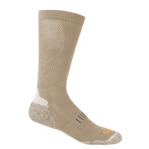 5.11 Tactical 10013 Adult's Year Round OTC Sock Coyote Small/Medium