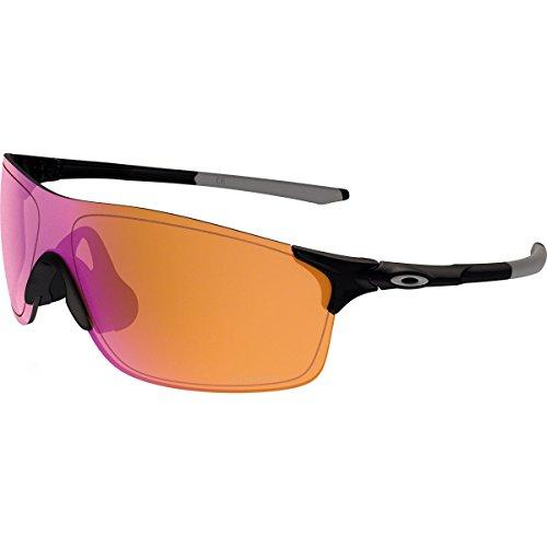 Oakley Men's Evzero Pitch Non-Polarized Iridium Rectangular Sunglasses, Polished Black, 38 mm Review