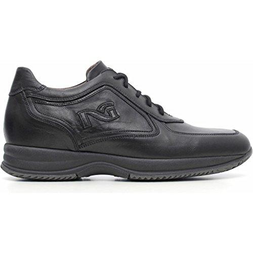 Nero Giardini - Zapatos de cordones de Piel para hombre Caracas Nero