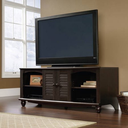 Television Stand for TVs up to 60'', Multiple Finishes (Antiqued Paint) by Full Tanker