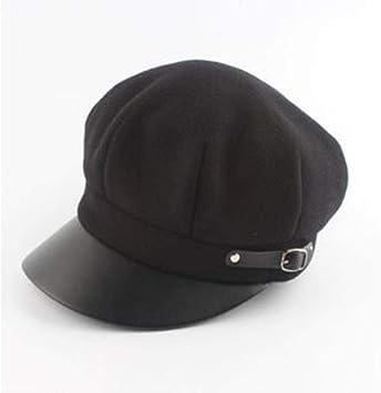 FJKL Sombreros Boinas para Mujer Gorras Boina para Mujer Primavera ...