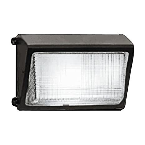 Aluminum 25000 Lumens Bronze Color 277V RAB Lighting WP3H250PSQ WP3 Metal Halide Wallpack with Glass Lens 250W Power ED28 Type