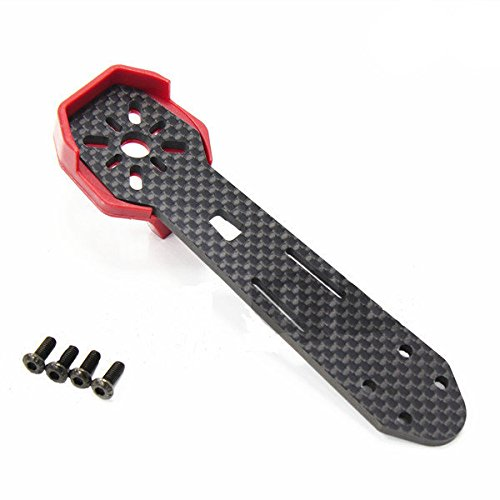 dipshop DALRC Carbon Fiber Arm With Motor Protective Mount Protector For ZMR250/280 (Muscle Motor Mount)