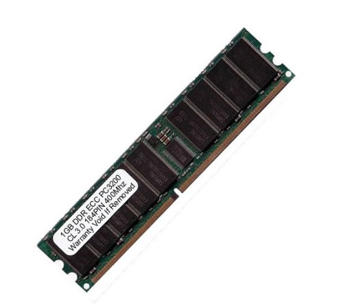 Ddr Sdram Cl3 184 Pin (Komputerbay 1GB PC3200 DDR 400MHz CL3.0 ECC Registered 184 Pin - made for Servers not Desktops)