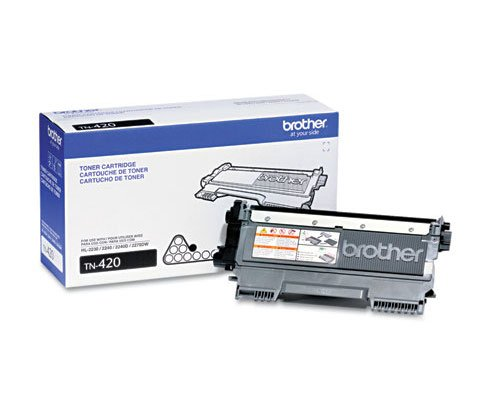 Brother, Model TN-420, Toner Cartridge ( 1-Pack )