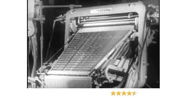 Amazon com: Classic Printing Press & Linotype Typesetting