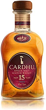 Cardhu Lantern 15 años Whisky Escocés Puro de Malta Edición Limitada con Pack de Regalo - 700 ml
