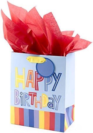 Hallmark Medium Birthday Colorful Stripes product image