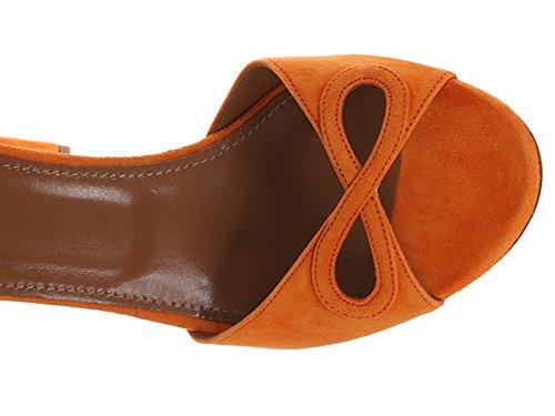 Vermids0sue93c Zapatos Naranja Aquazzura Mujer Gamuza IwWTqq5xP