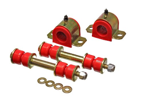 Performance 22mm Rear Sway Bar (Energy Suspension 8.5122R 22mm Rear Sway Bar Bushing Set)