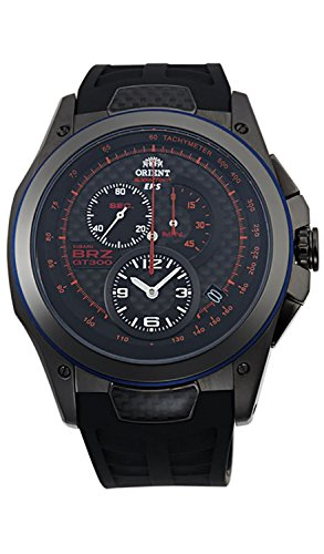 ORIENT watch SPEED TECH overseas model domestic manufacturers guaranteed ERSXBRZ collaboration black SKT00003B0 Men