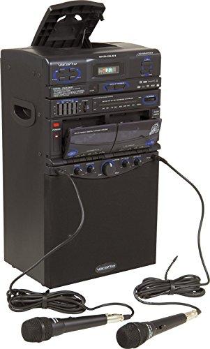 VocoPro DVD-Duet 80W CD / Dual Cassette / AM / FM Karaoke System (Karaoke Vcd Player)