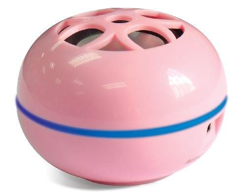Grandmax Teeny Tweakers Portable Mini Boom Speakers for iPod / Mp3 Players & Laptops (Pink) by Grandmax