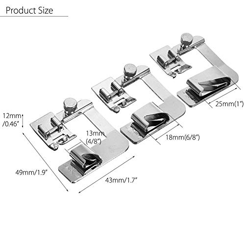 Babylock Elna Musuntas 15 pc Sewing Machine Presser//Walking Feet Kit for the Brother New Home Toyata Elna Simplicity Janome Necchi Kenmore by Musuntas Singer New Home
