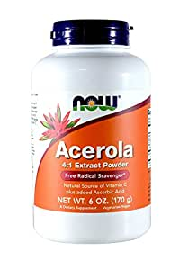 ACEROLA, POWDER, 6 OZ by Now Foods (Pack of 2)