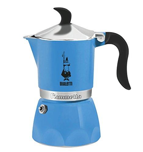 BIALETTI 비알레띠 모카포트 비아 렛티 직화식 모카 피아메타 Fiammetta 3 컵 3972  Espresso Maker 그린/핑크/블루/레드