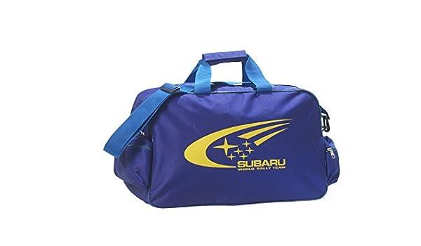 Subaru Logo bolsa de viaje bolsa bolso de deporte gimnasio: Amazon ...