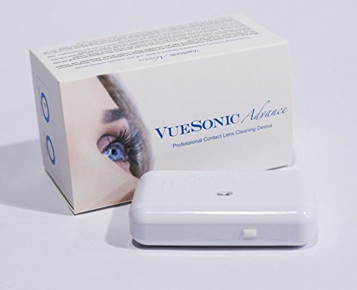 VueSonic Advance Medical Contact Lens Cleaner, Gas Permeable Contact Lens Cleaner by VueSonic (Image #2)