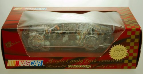 2001 - Palmer - NASCAR - Clear Acrylic Candy Dish - Dale Jarrett #88 Car - UPS Racing - Robert Yates Racing - Limited Edition - (Robert Yates Racing)