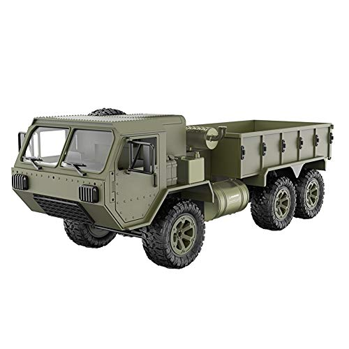 Debuy Army Military Truck Model 1/16 2.4G 6WD RC Car Proportional Control Toys Kids Gift ()