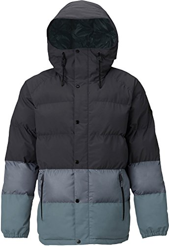 Burton Men's Traverse Jacket, Faded/La Sky/Winter Sky, Medium ()