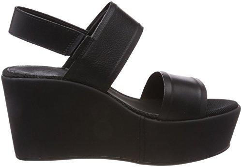 G-STAR RAW Corestrap Flatform, Sandalias de Plataforma Para Mujer Negro (Black 990)