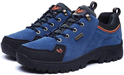 Zapatillas de Hombre, Pareja de Modelos al Aire Libre Zapatos de Senderismo Solo Zapatos de Senderismo para Hombres Zapatos para Escalar Zapatillas