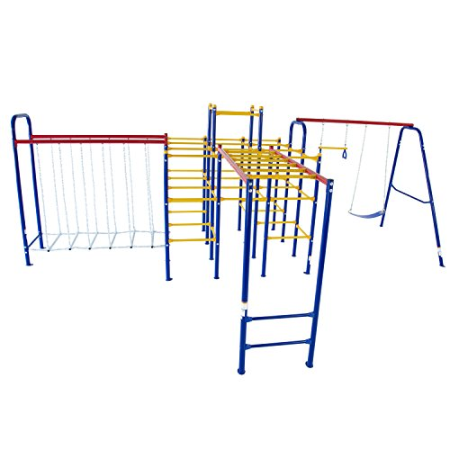 Modular Playground Equipment - Skywalker Sports Modular Jungle Gym with Accessories