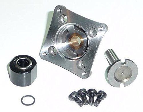 TRAXXAS 3.3 ENGINE ONE WAY BEARING, STARTER SHAFT AND BACK PLATE, GOOD FOR ALL TRAXXAS CARS AND TRUCKS WITH THE 3.3 ENGINE, SLASH, E-MAXX,REVO, NITRO 4TEC, AND THE JATO. (One Traxxas Bearing Way)