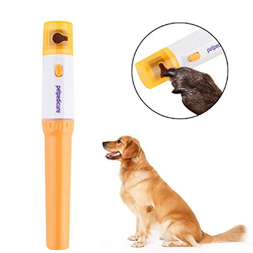 Kingsea Pet Paws Dog Cats Grooming Grinding Painless Nail Grinder Trimmer Clipper