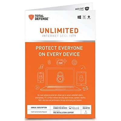Total Defense Unlimited Internet Secuirty [Download]