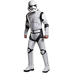 Star Wars: The Force Awakens Deluxe Adult Stormtrooper Costume, Multi, X-Large