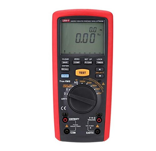 UNI-T UT505B Handheld Digital Insulation Resistance Tester Megger AC/DC Voltage Measurement - 1