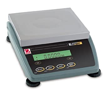 Ohaus Ranger RD12LS Compact Bench Scales, 26.46 lb/423.30 oz/12 kg/12000gm/0.012t Capacity