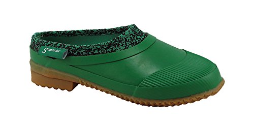 Superior Boot tibNSnGAVr Women's Neoprene Garden Clog Green Neoprene