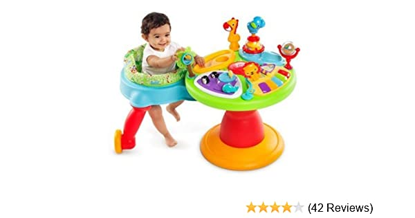 d33d0717742c Amazon.com   Bright Starts 3-in-1 Around We Go-Activity Station ...