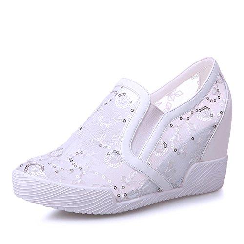 Aumento De Zapatos De Mujer En La Red/Calzado Casual/Zapatos Deportivos/Hilado Neto Zapatos Lok Fu A
