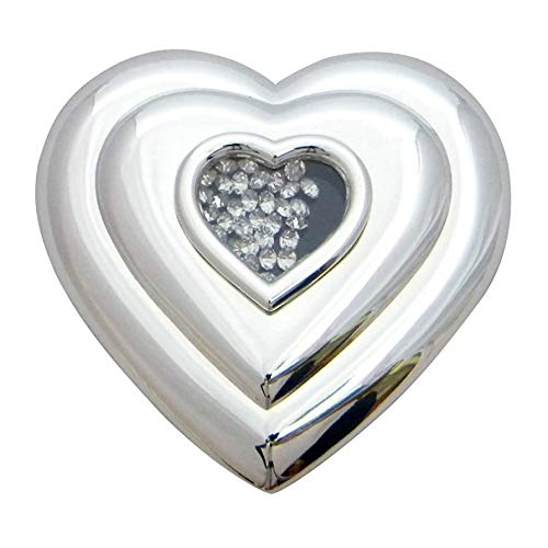 Silver Options Lifetime Heart Compact ()