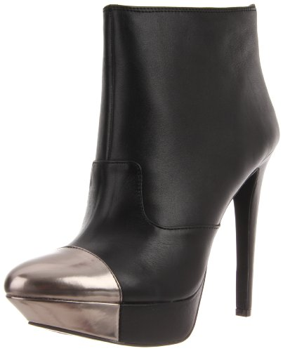Jessica Simpson Women's JS-ESSAS, Black Alaska Leather, 8.5 M US (Platforms Jessica Leather)