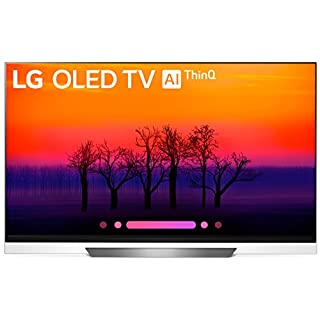 LG Electronics OLED65E8PUA 65-Inch 4K Ultra HD Smart OLED TV (2018 Model)
