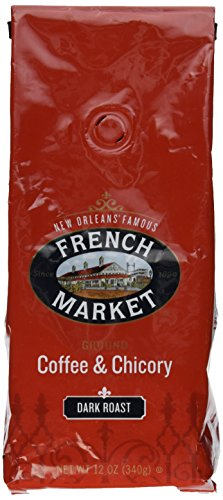 French Market - French Market Coffee and Chicory, Dark Roast 12 Ounce