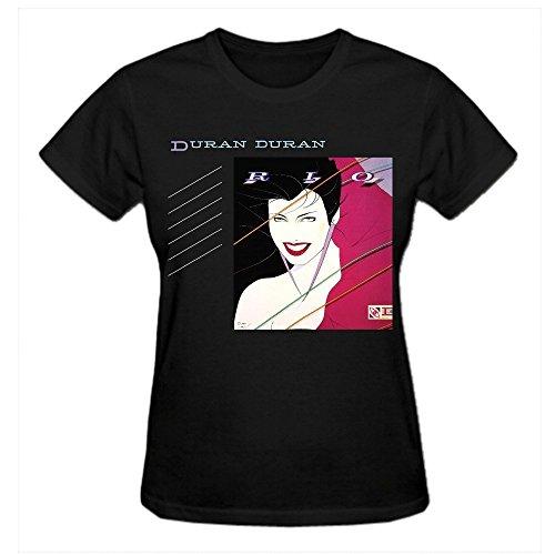 Duran Duran Rio Women T Shirts O Neck Black