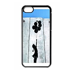 High Quality Phone Back Case Pattern Design 1Tourist Banksy Series- For Iphone 5c