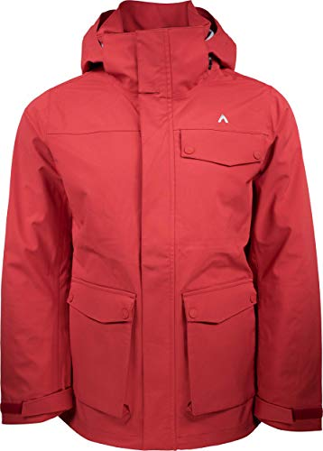 Terracea Men's Peak LT - 3L Lightweight Jacket | 20K/34K | Ski | Snowboard | Lifestyle