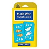 School Zone Math War Multiplication Game Cards [Set of 3]