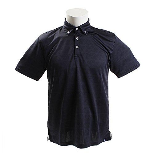 PG(PG) BDダイヤ柄ポロシャツ PGTJ1803-NVY